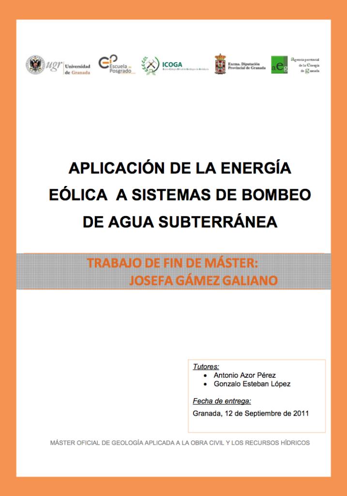 Pub Estudiosobrelas Posibilidadesdebombeo Granada Energia