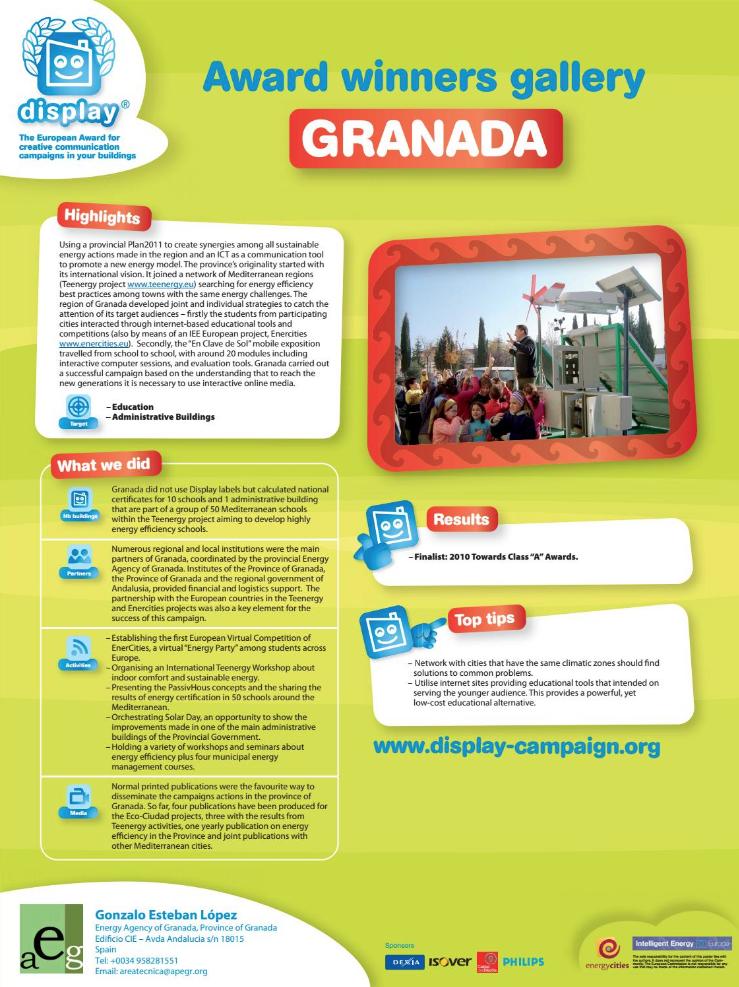 Pub Granadadisplay Granada Energia